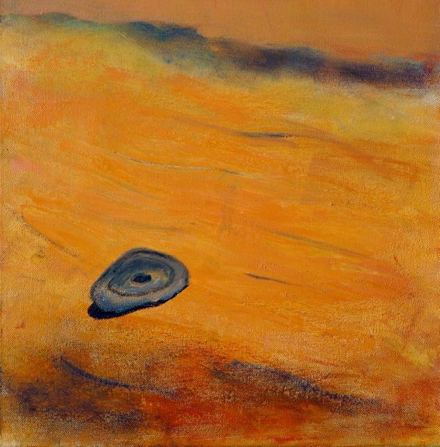 Apparition de la vie. Peinture acrylique sur toile. 30x40 cm. 2016