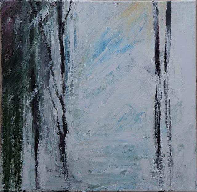 Hiver. Peinture acrylique. 30x30.