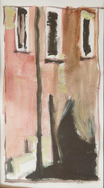 Impression Venise. Peinture acrylique sur toile. 20X40 cm, 2013