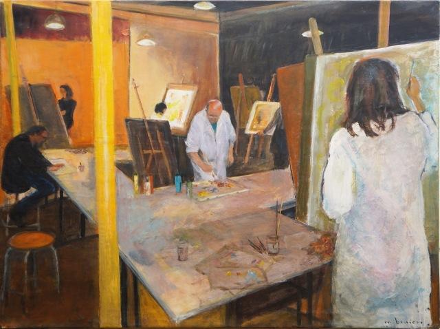 L'atelier au Potager du Dauphin.