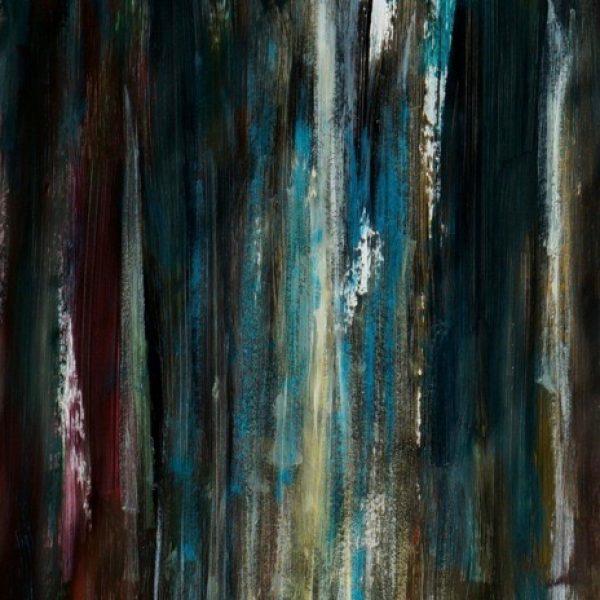 Lumière en forêt.50x70-2016jpg